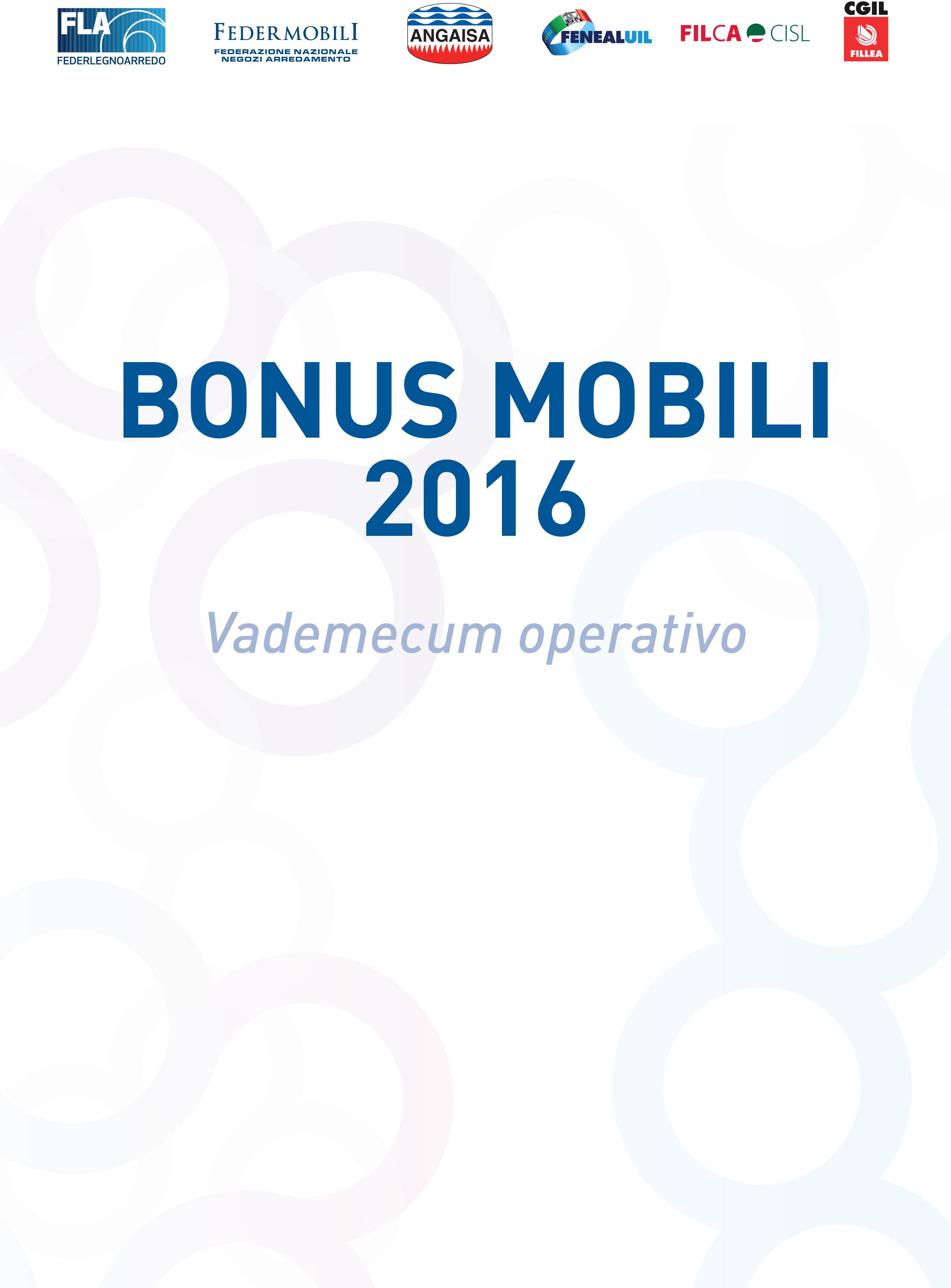 Bonus mobili 2016 servizi angaisa s r l for Bonus mobili 2016
