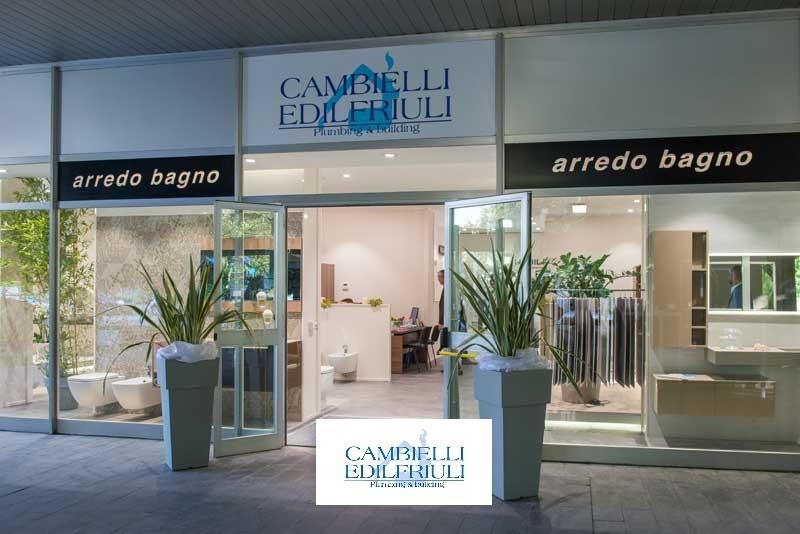 Cambielli edilfriuli nuove aperture servizi angaisa s r l - Arredo bagno trento ...